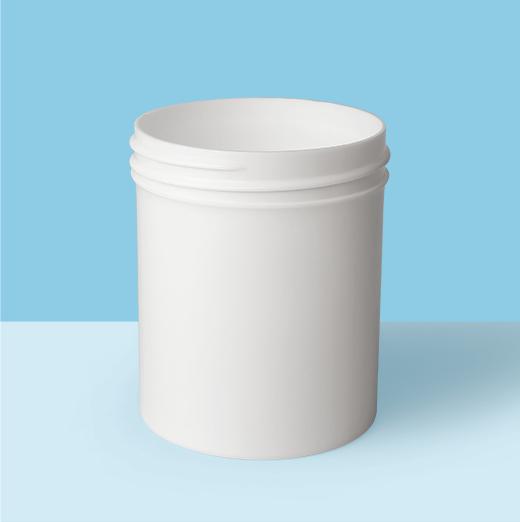 4oz 58mm Regular Wall Plastic Jar