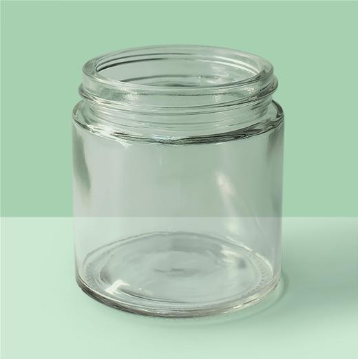 3oz 53mm Glass Jar