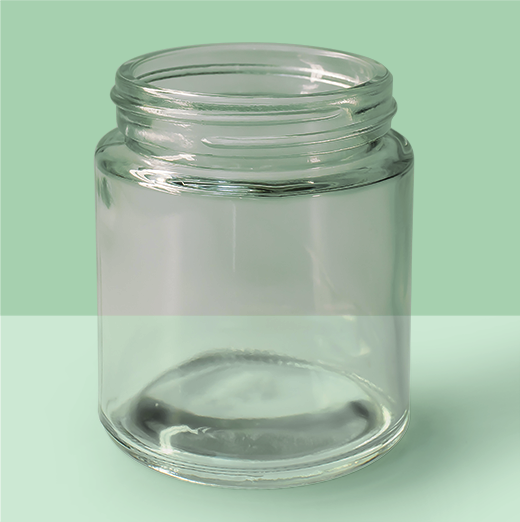 3.4oz 53mm Glass Jar