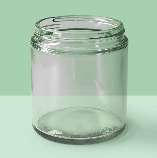 4oz 58mm Glass Jar
