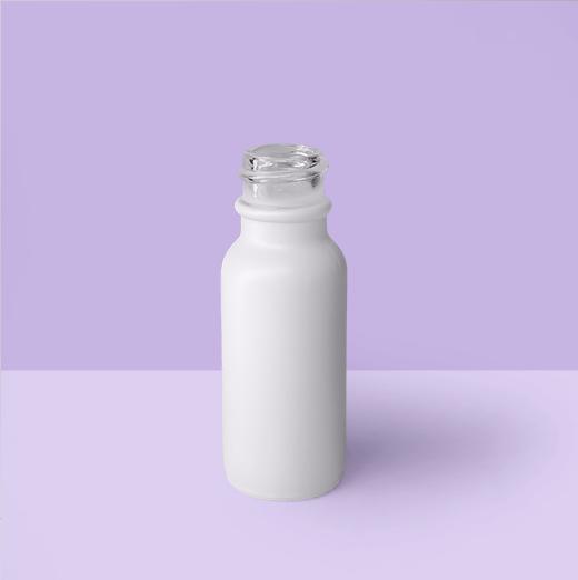 1/2oz 18mm Glass Dropper Bottle