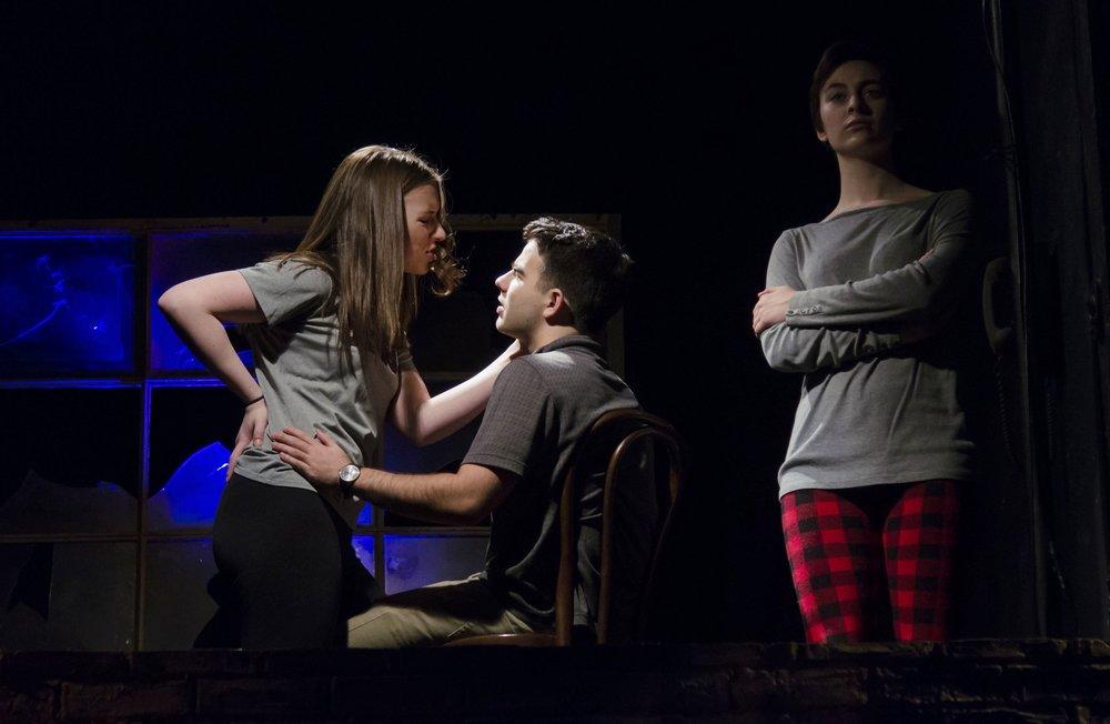 The Honey Trap —  Boston Playwrights Theatre   (rehearsal)  Kalman Zabarsky Photography