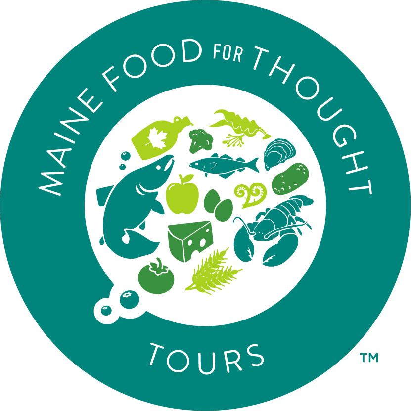 This wasn't your typical food tour. I loved how Maine Food for Thought took the time to tell a story behind Maine's food scenes.