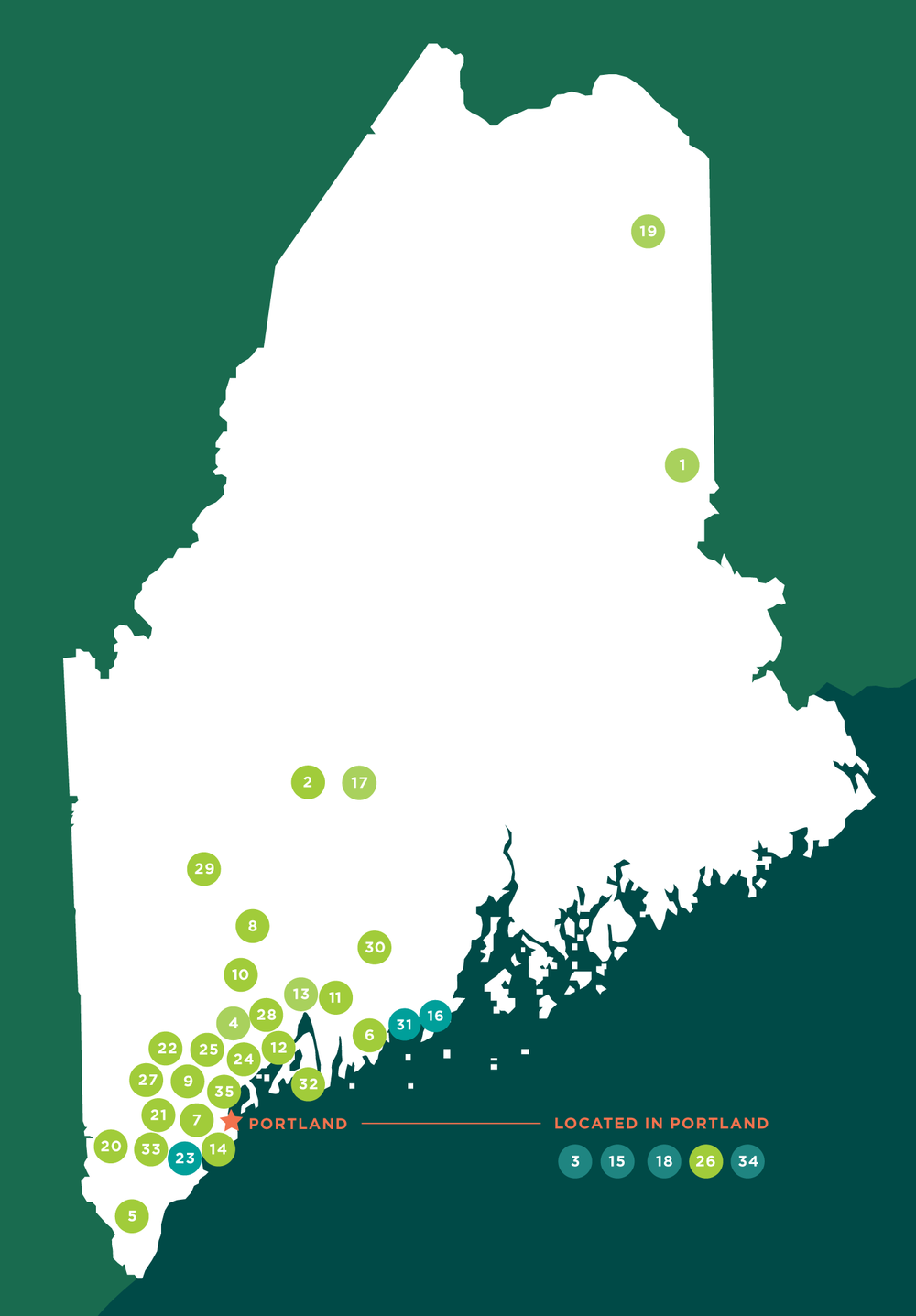 Maine Grown and Caught Map