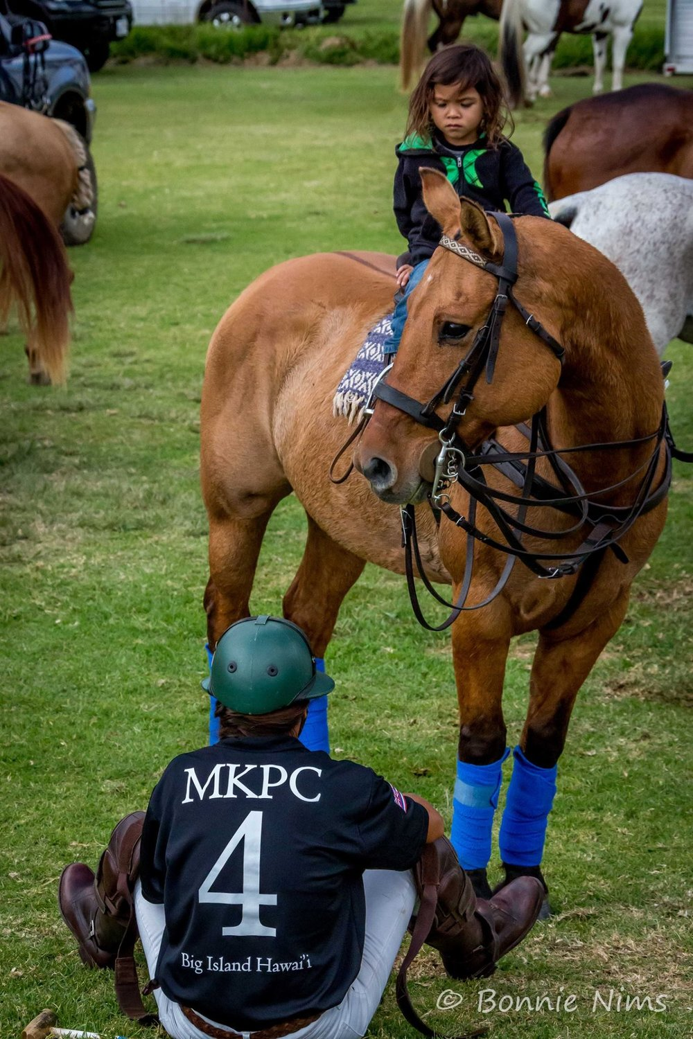 The love for polo - May begin at any age