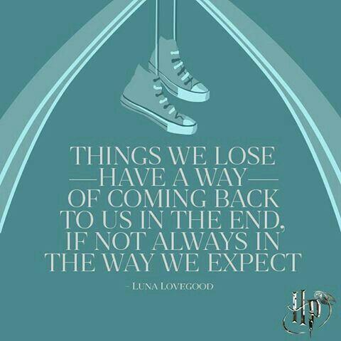 A classic Luna Lovegood quote