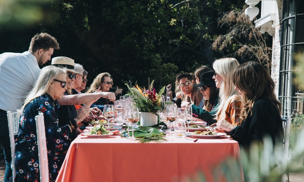 Sana Jardin x Maison de Mode Influencer Luncheon at a private residence in Los Angeles.