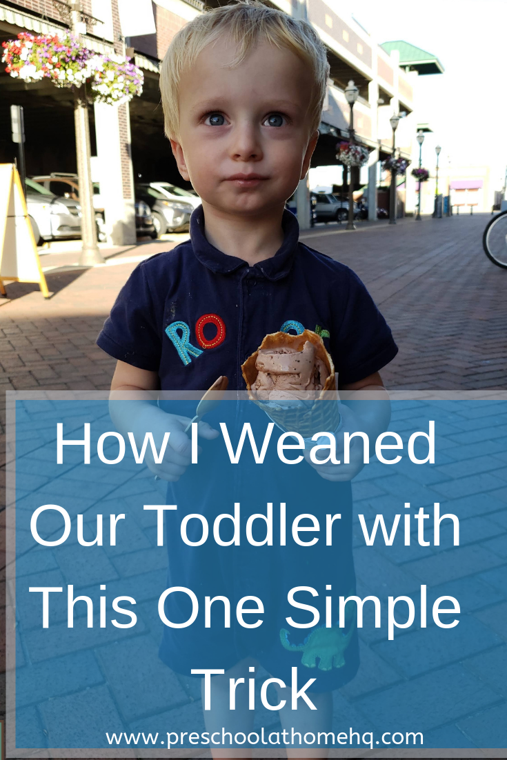 how to wean breastfeeding toddler