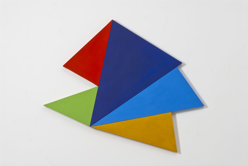 Infinex #44 , 2014, acrylic on canvas, 111 x 121 cm.