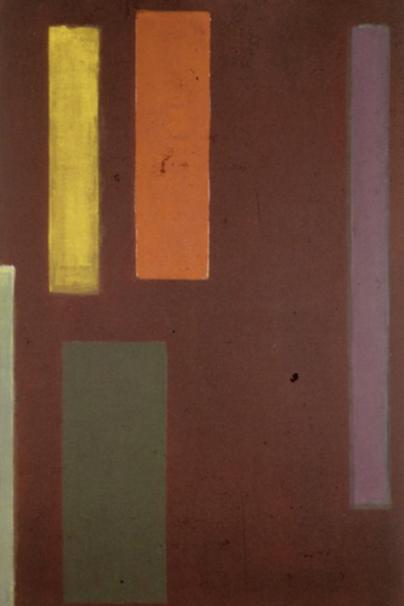 Levant , 1970, acrylic on linen, 219 x 145 cm.