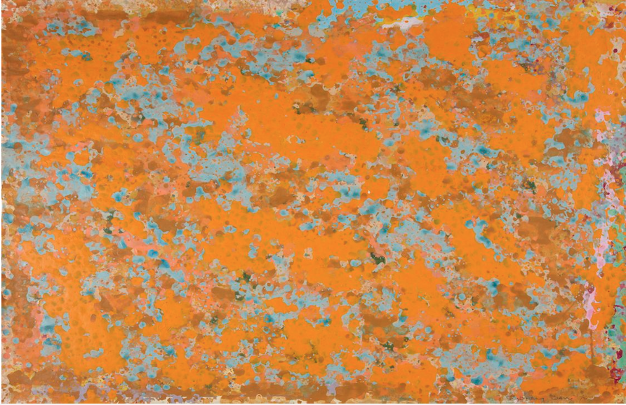 Untitled No. 15 , 1972, gouache on paper, 56 x 76 cm