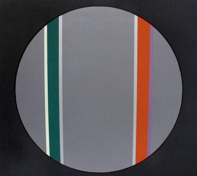 Canto XIX , 2003, screenprint, 57 x 77 cm, edition of 30.