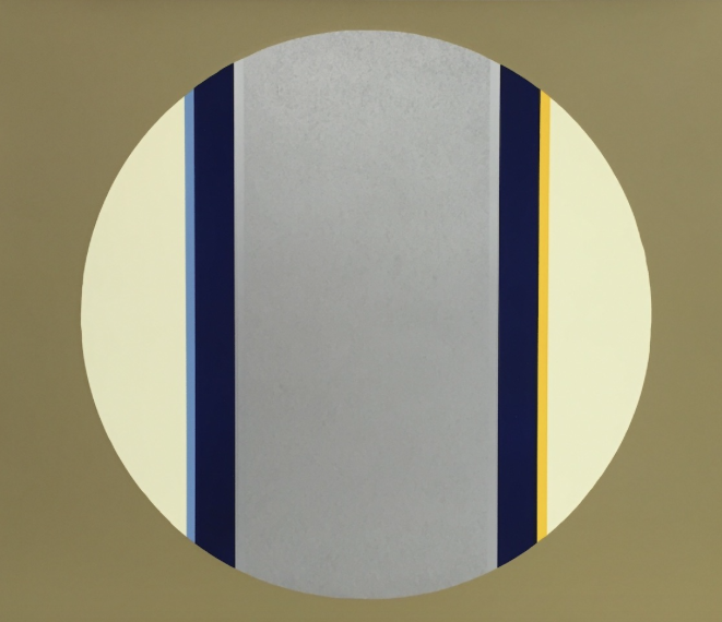 Canto XV , 2003, screenprint, 57 x 77 cm, edition of 30.