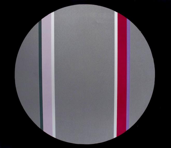 Canto XVIII , 2003, screenprint, 57 x 77 cm, edition of 30.