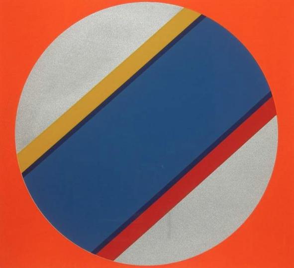 Canto No. IV , 2003, screenprint, 77 x 77 cm (unframed)