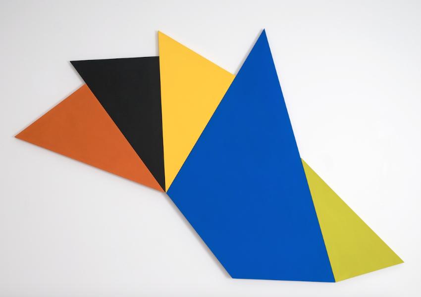 Infinex Lumina #6 , 2010, acrylic on canvas, 165 x 258cm.