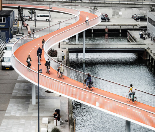 The Bicycle Snake | courtesy of DISSING+WEITLING architecture