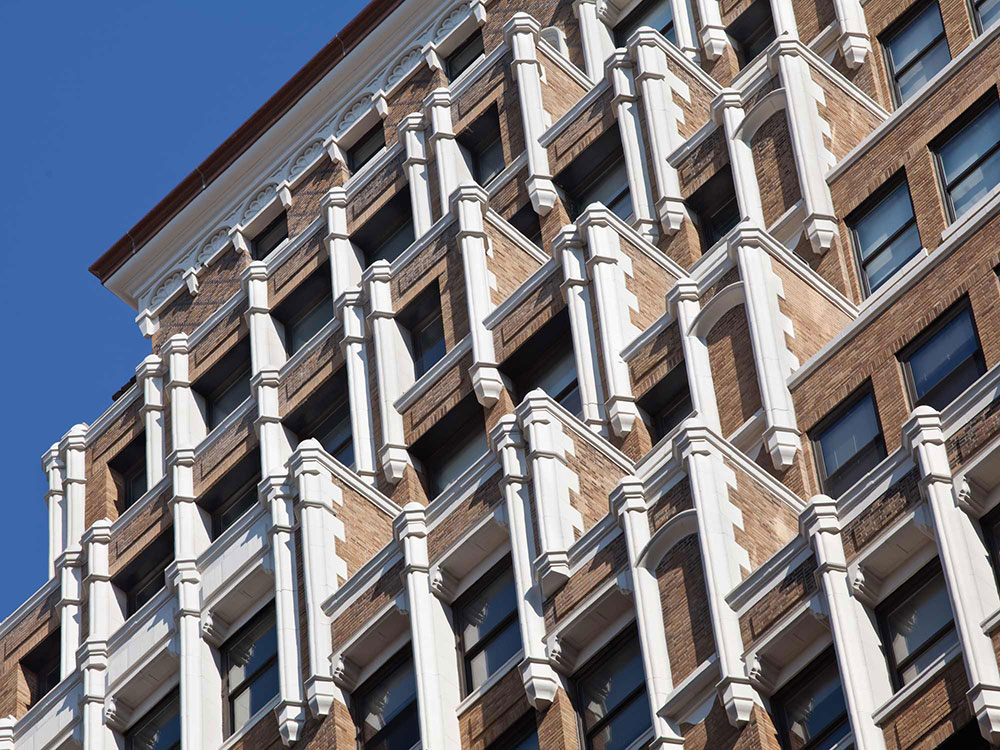 520 Eighth Avenue Exterior Restoration -