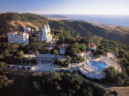 Hearst Castle, 1919 to 1947 (a source of Morgan's work for 28 years).