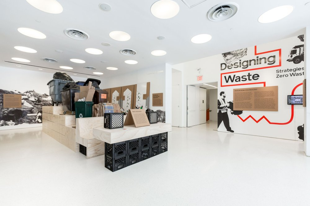Loci Enters AIA Zero Waste Challenge - July 5, 2018Great exhibit about the new Zero Waste Guidelines at the Center for Architecture, created by our colleague, Clare Miflin. From the New York Times: