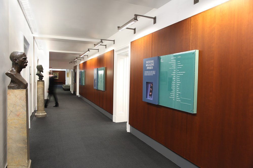 Loci Upgrades Interiors of Columbia University - December 2016Working with the leadership at Columbia University's School of Journalism, we upgraded the interiors at the historic Pulitzer Hall.