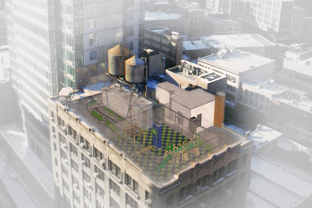 Loci Begins New Project with BPCS - December 2014Loci starts the next project at Brooklyn Prospect's elementary school in Downtown Brooklyn, which includes new classrooms, a food service area, and a rooftop playground.