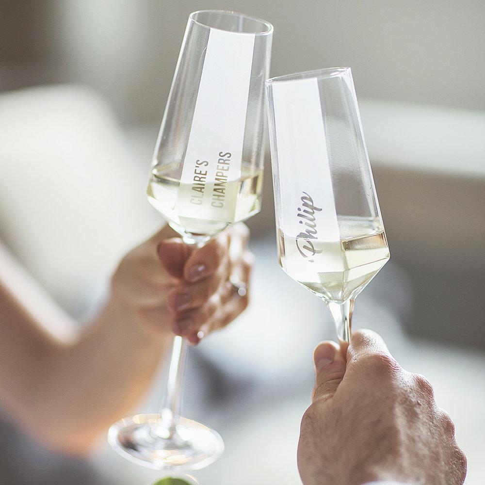 Personalised Hexagonal Champagne Flute Lifestyle.jpg
