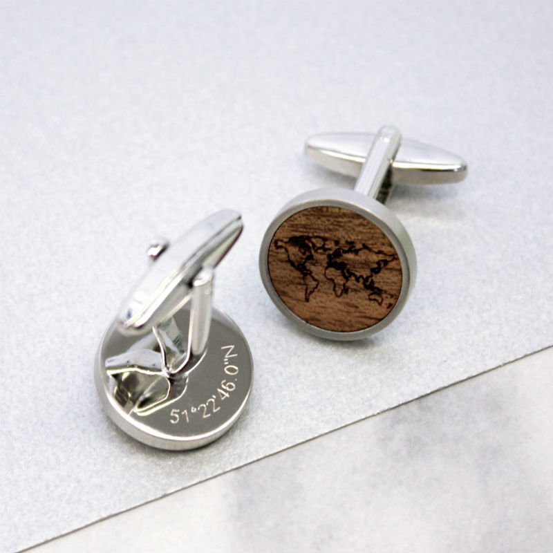 walnut wood map outline cufflinks edit2.jpg