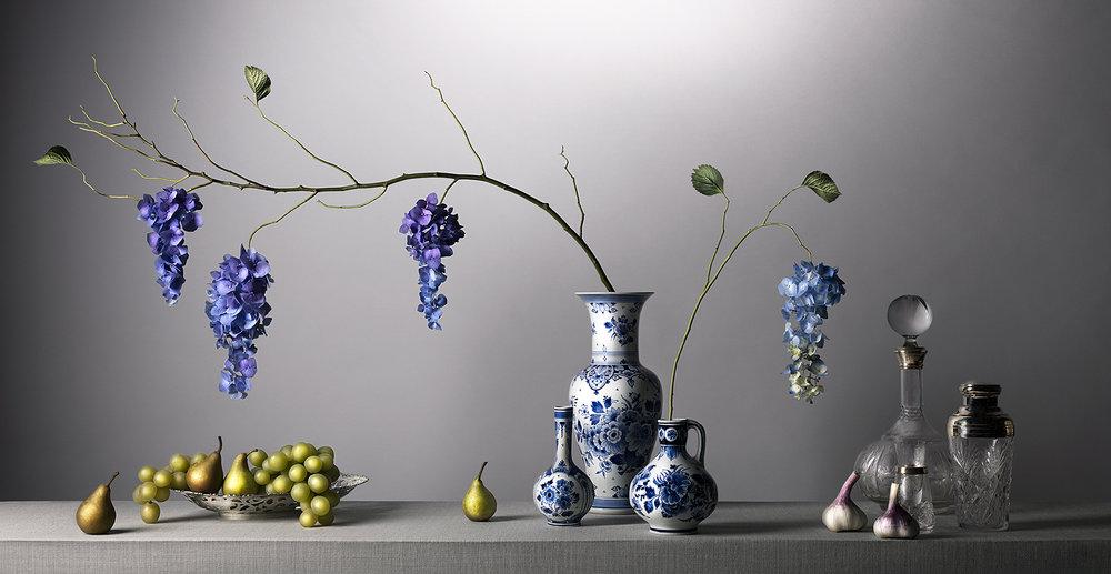 Blauwe Tranen  | 180 x 93 cm | 150 x 77 cm | Total Edition 5
