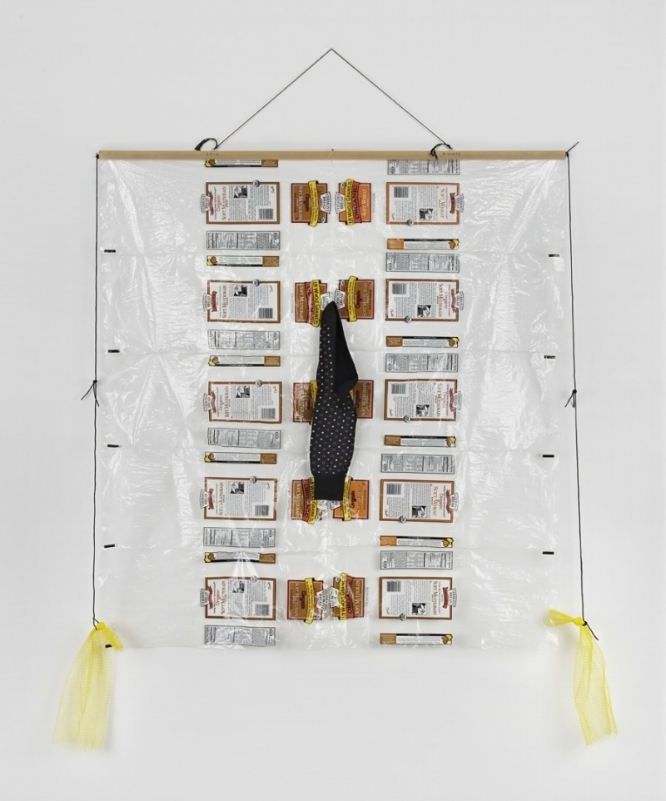 Untitled (bread quilt), 2012. Courtesy of officebaroque.