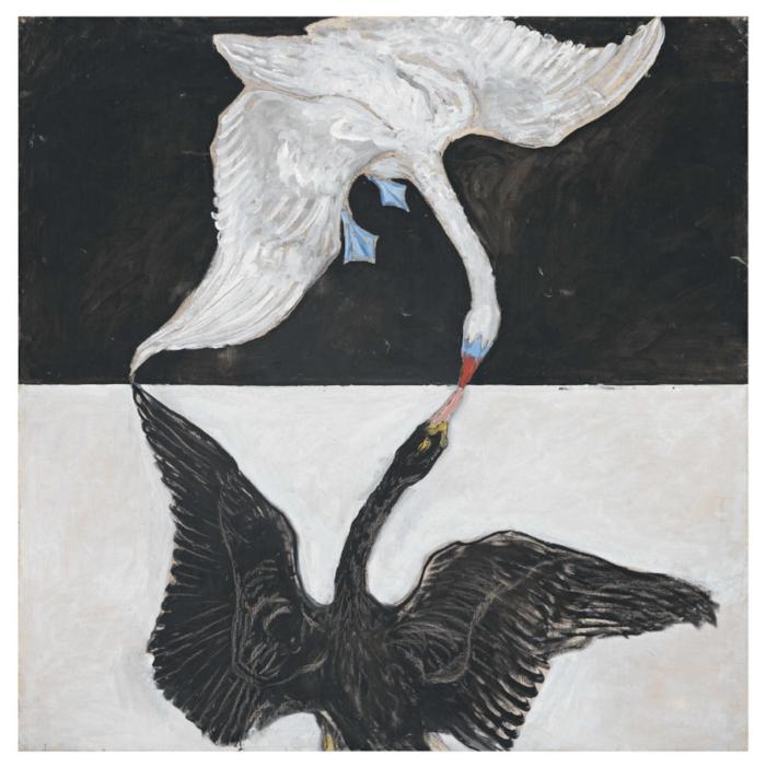The Swan, No. 1, Group IX/SUW , 1914-15. Photo: Hilma Af Klint