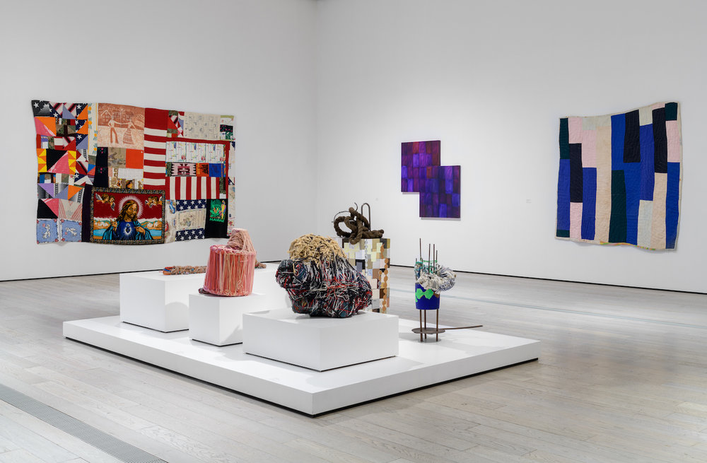 Installation view,  Outliers and American Vanguard Art , Los Angeles County Museum of Art (photo © Museum Associates/LACMA)