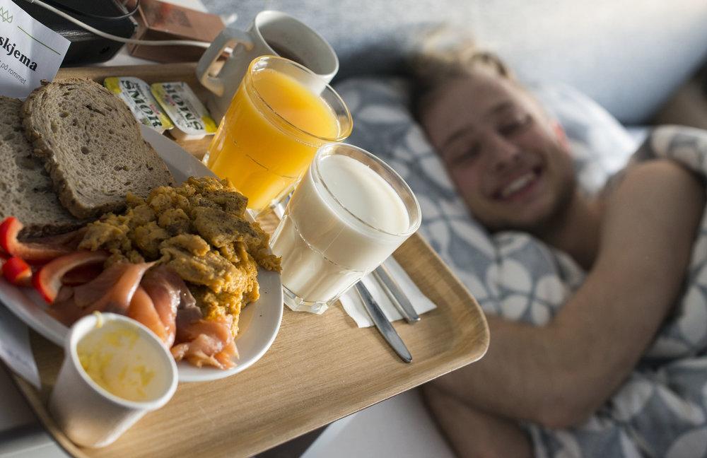 Frokost på senga