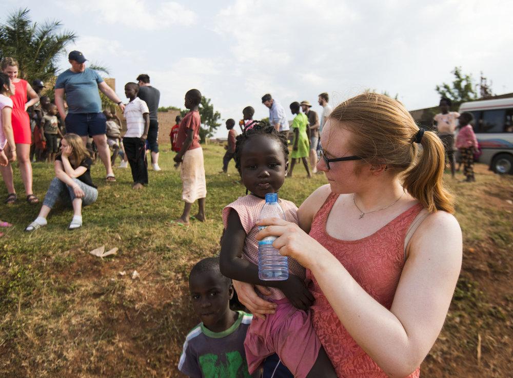På fellestur til Uganda får vi bety en positiv forskjell
