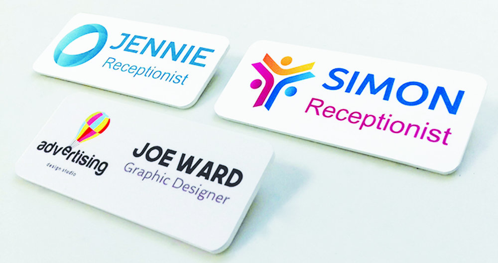 Sublimated - Our stunning sublimated badges are printed in full colour with your choice of fixing, finish and size. Standard sizes available are below:(mm) 76 x 25, 76 x 32, 76 x 38 & 76 x 50Finish Choices: Domed & CroppedFixing Choices: Pin, Magnet, Clip & Pin, Rota Clip