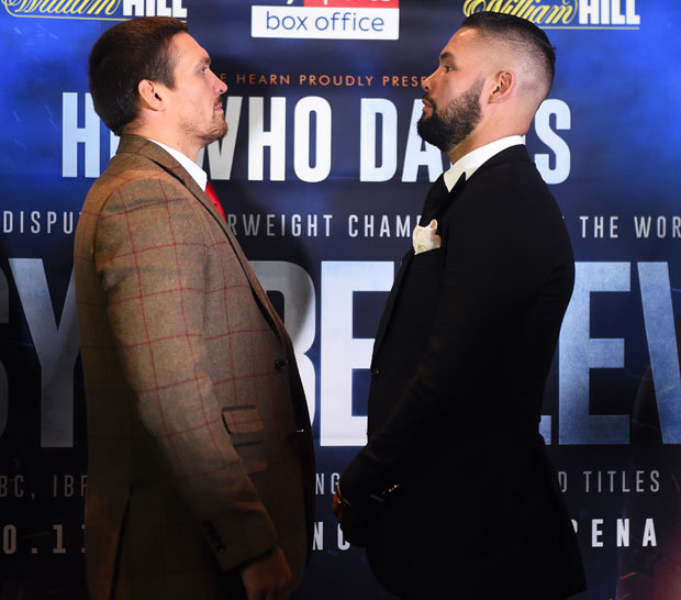 Bellew returns to cruiserweight on Saturday night for a clash with undisputed champion Usyk (Pic: GETTY)