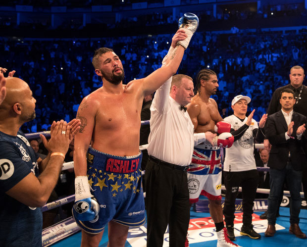 Bellew jumped up to heavyweight in two recent wins over David Haye (Pic: GETTY)