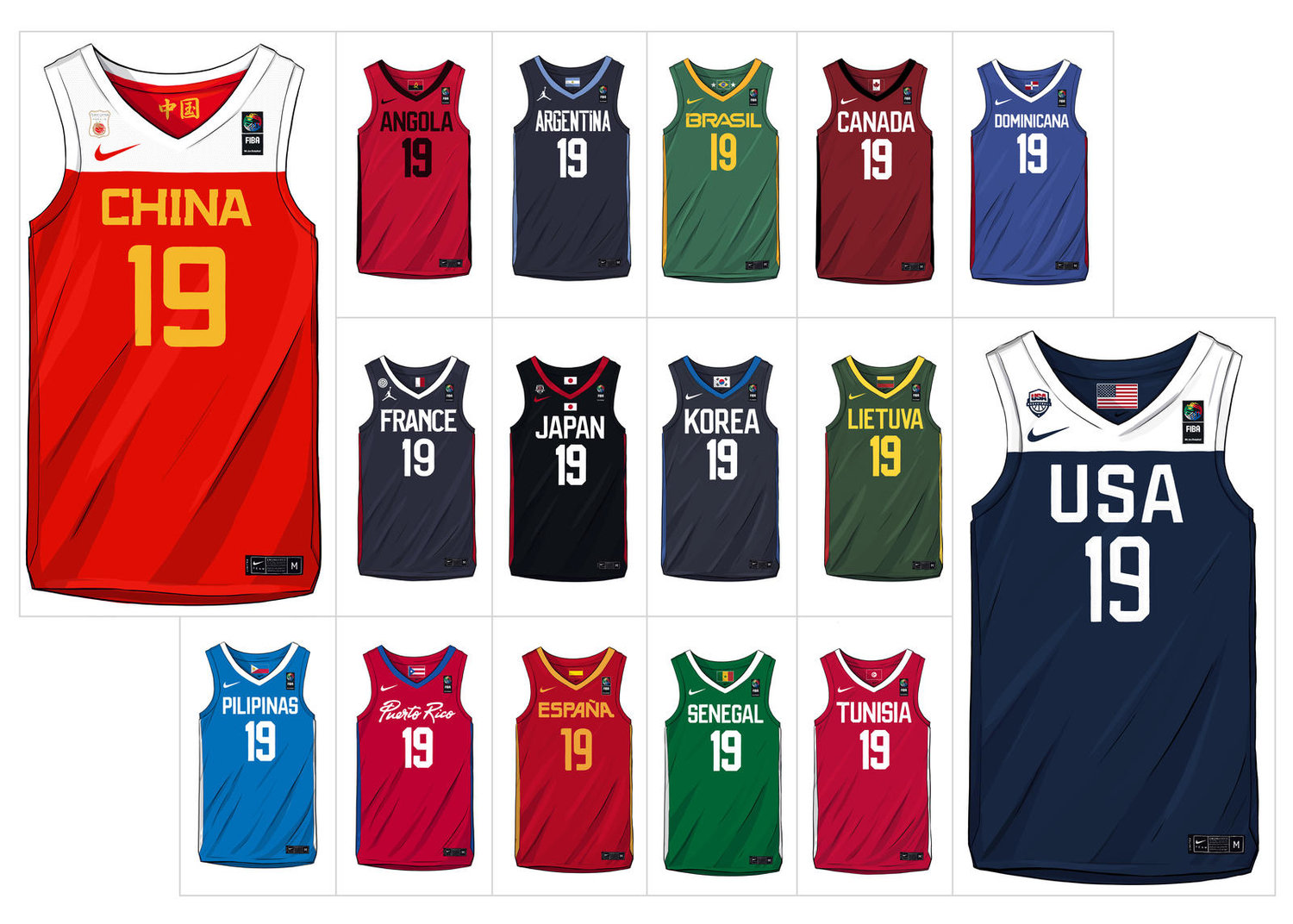 half off 4c4e1 41c1d Here are all the Nike and Jordan Brand Basketball Federation ...