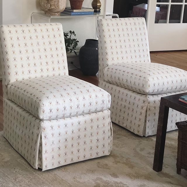 So happy about this recent delivery! Mally Skok + Highland House = Perfection. @mallyskok @highlandhousefurniture