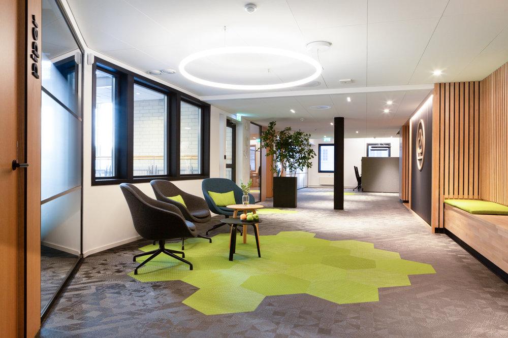 Bank kontorlandskap interiørarkitekt oslo gang .jpg