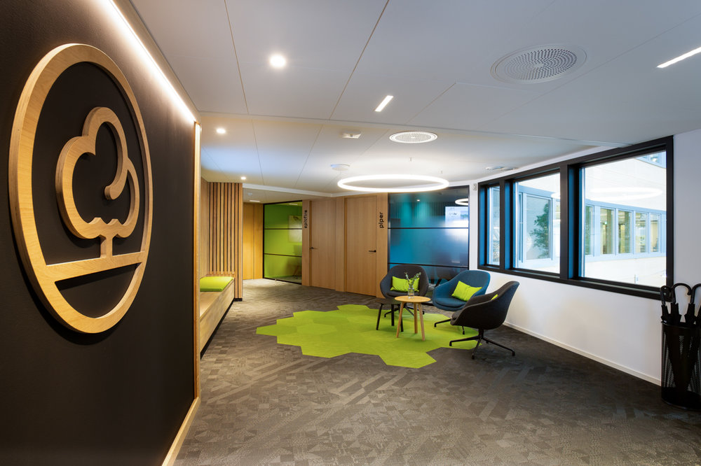 kontor sosiale soner Kontorlandskap interiørakitekt oslo