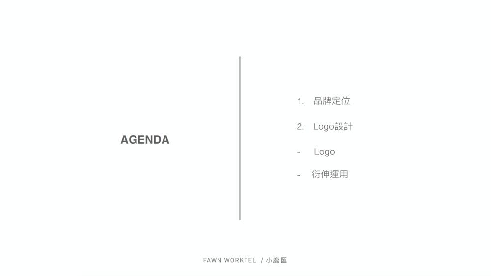 Agenda or purpose(简报的流程或目的)