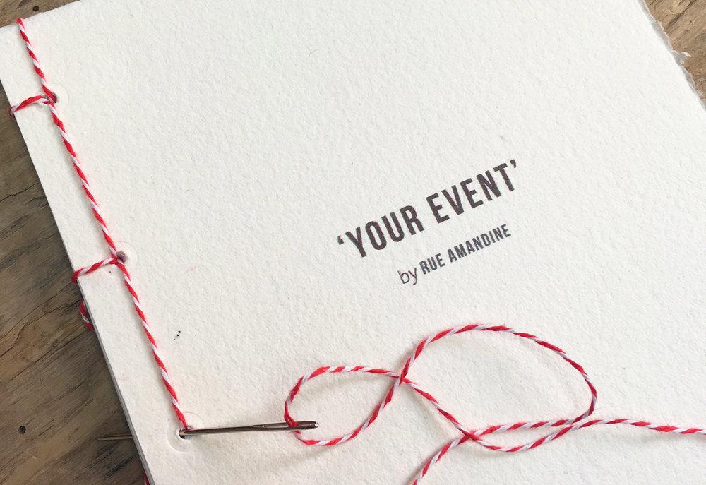 NOTRE ENGAGEMENT - «Never done before»: simple ou luxueuse, intime ou grandiose, il n'y a pas de réponse toute faite à l'expérience que nous imaginerons pour votre marque.