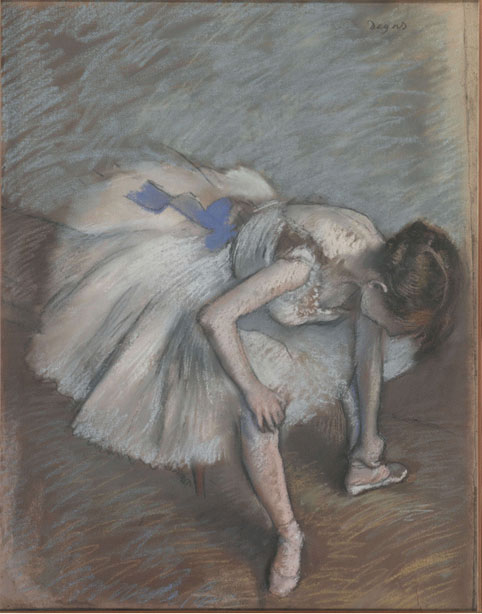 Copy of Degas in Musée d'Orsay
