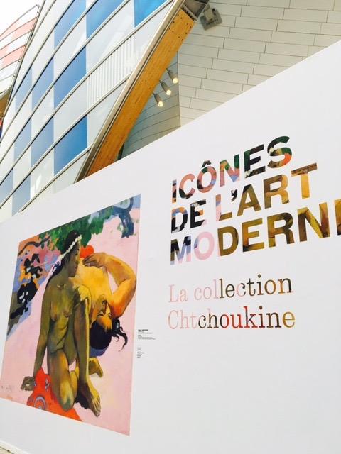 Copy of Chtchoukine collection at Fondation Louis Vuitton