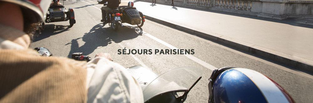 SEJOURS PARISIENS