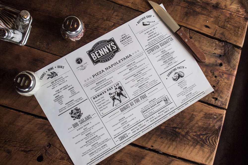 We helped introduce Benny's Fattoria, a new experience in Italian dining with branding, website design, to even the interior design for a complete customer experience.     BENNY'S FATTORIA  / View Project »