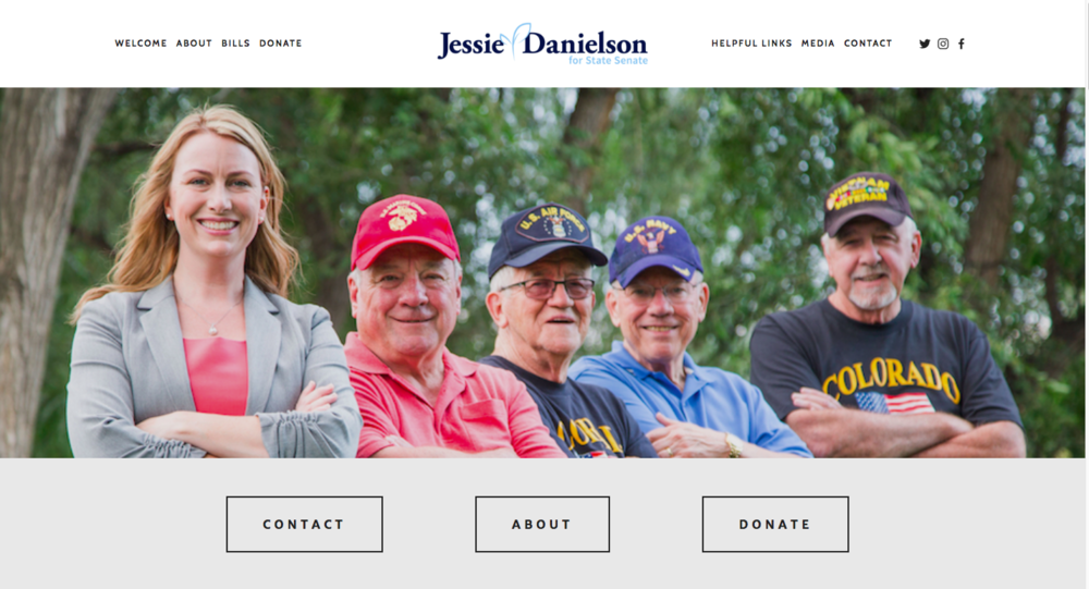 Jessie Danielson - Senate District 20