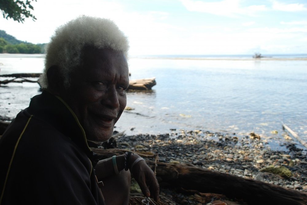 tembin village, chief, papua new guinea, shark callers