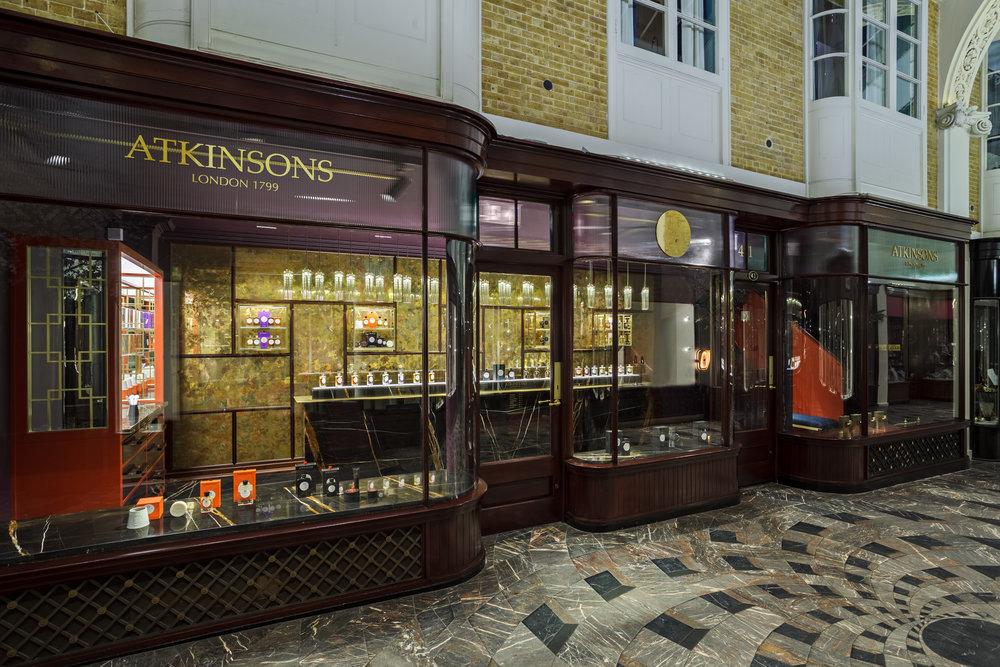 Atkinsons 1799 Burlington Arcade - Shopfront © Michael Franke